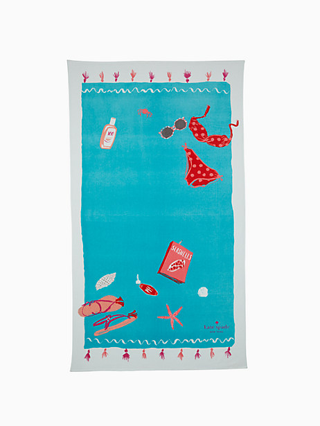 Kate Spade Beach Day Towel, Pink