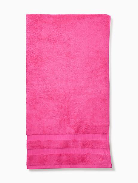 Kate Spade Chattam Stripe Bath Towel, Pink