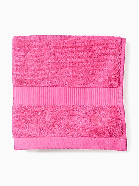 Kate Spade Chattam Stripe Washcloth, Pink
