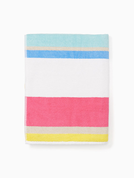 Kate Spade Paintball Floral Bath Towel