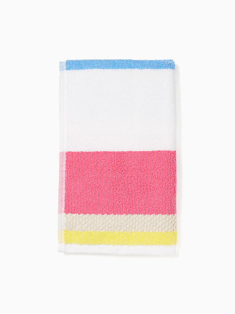 Kate Spade Paintball Floral Finger Tip Towel