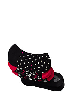 heart no show sock set by kate spade new york