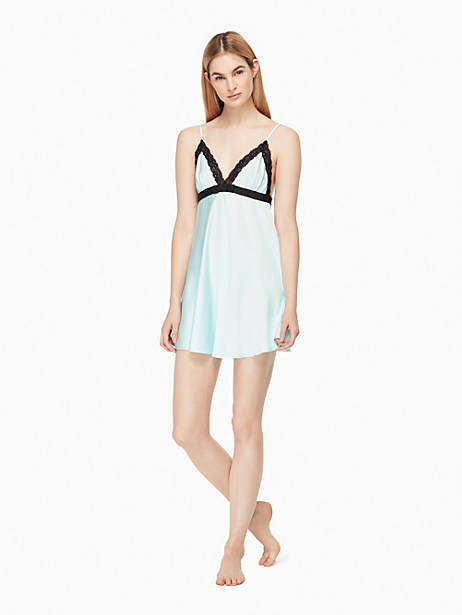 Kate Spade Charmeuse Chemise, Air - Size L