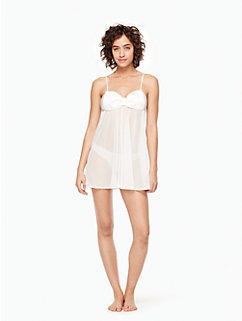 2-piece dot chemise by kate spade new york