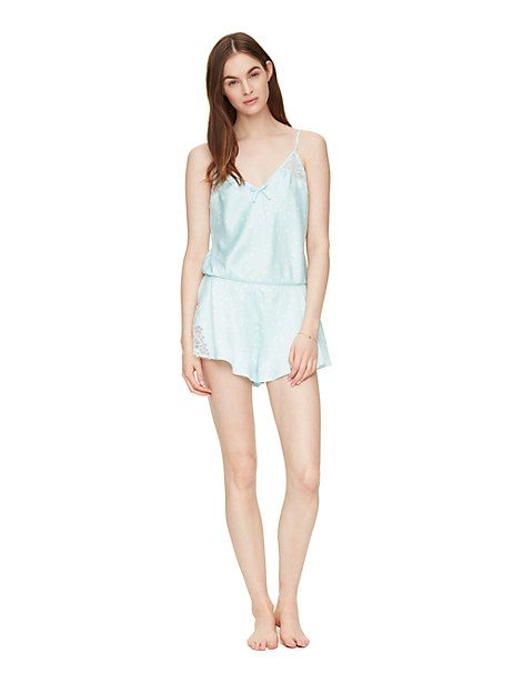 lace dot romper by kate spade new york
