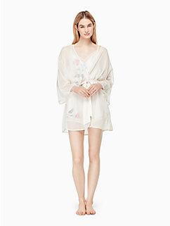 dot jacquard robe by kate spade new york