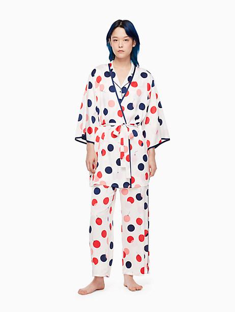 Kate Spade Charmeuse Robe, Balloons - Size XS/S
