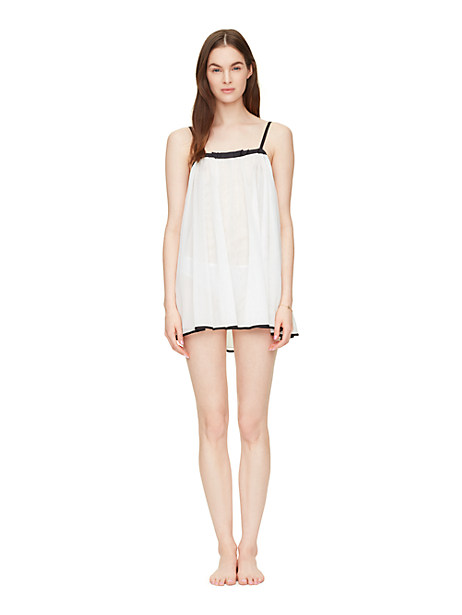 Kate Spade 2 Piece Chemise, Off White - Size XL