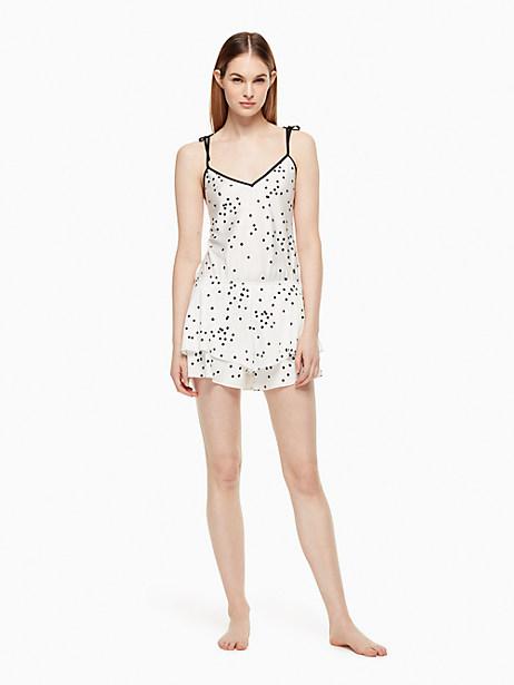 Kate Spade Romper, Off-White Confetti Dot - Size M