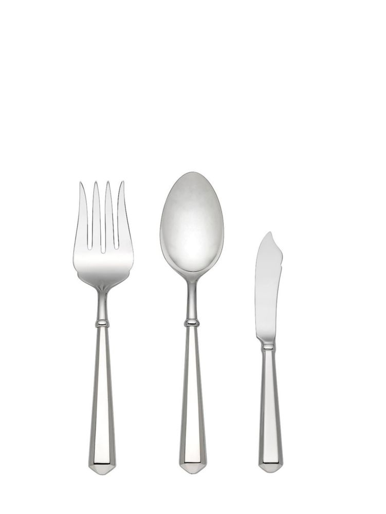 todd hill three-piece serving set