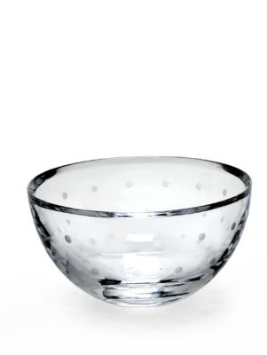6' larabee dot round bowl