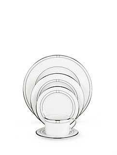 noel alabaster five-piece place setting