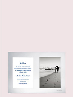 darling point double invitation frame