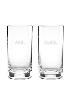 darling point mr. and mrs. highball set by kate spade new york