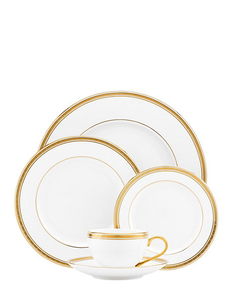 Kate Spade Oxford Place 5 Piece Place Setting, White