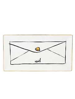 daisy place Snail Mail Tray by kate spade new york