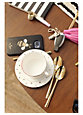 malmo rose gold five-piece place setting, rose gold
