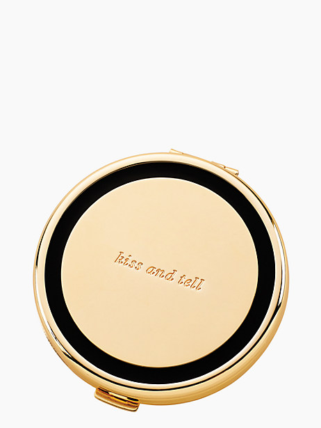 holly drive kiss and tell compact by kate spade new york