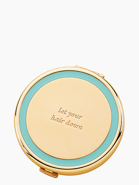 holly drive let your hair down compact by kate spade new york
