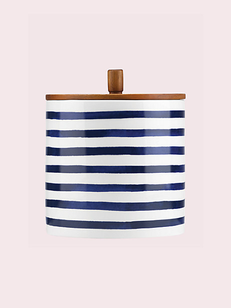 Kate Spade Large Charlotte Street Canister, Navy