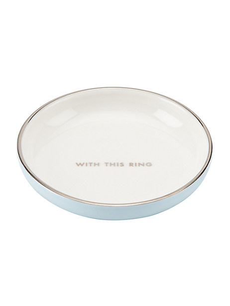 take the cake ring dish by kate spade new york