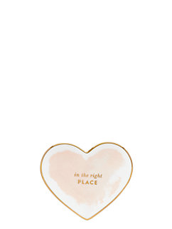 posy court small heart dish by kate spade new york