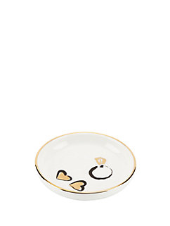 daisy place ring dish by kate spade new york