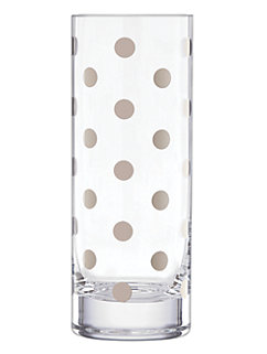 pearl place platinum vase by kate spade new york