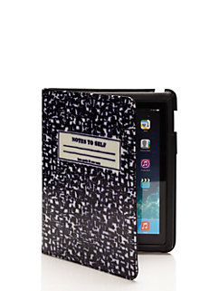 compostion notebook ipad folio