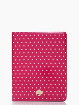dots & spades ipad folio