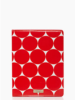 deborah dot ipad folio