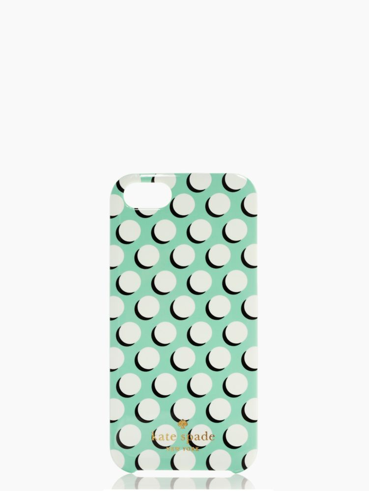 newsprint dot iphone 5 case