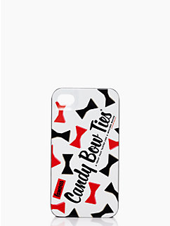 licorice bow ties iphone 4 case