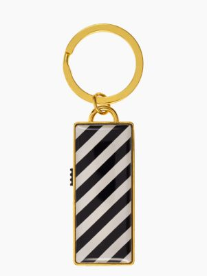Beautiful Harrison Striped Kate Spade USB keychain