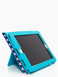 chevron ipad folio