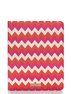 chevron ipad folio by kate spade new york