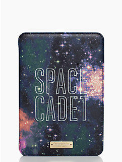 mini ipad folio hardcase space cadet by kate spade new york