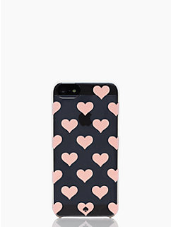 clear hearts iphone 5 case by kate spade new york