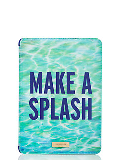 ipad air hardcase make a splash lenticular by kate spade new york