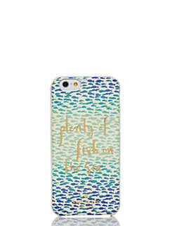 resin iphone 6 plenty of fish in the sea by kate spade new york