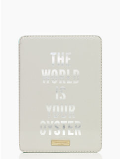 the world is your oyster ipad air hardcase by kate spade new york