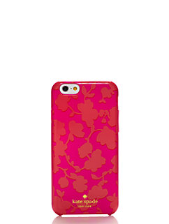graphic floral resin iphone 6 case by kate spade new york