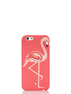 flamingo silicone iphone 6 case by kate spade new york