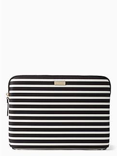 fairmont stripe laptop sleeve by kate spade new york