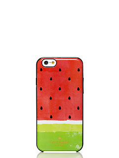 embellished watermelon resin iphone 6 case by kate spade new york