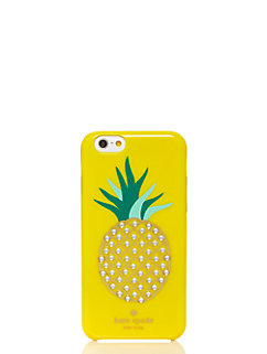 embellished pineapple resin iphone 6 case by kate spade new york