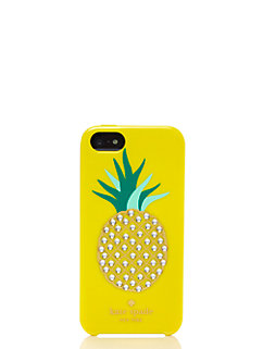 embellished pineapple resin iphone 5 case by kate spade new york