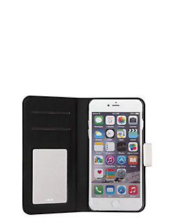 leather iphone 6 plus wrap folio by kate spade new york