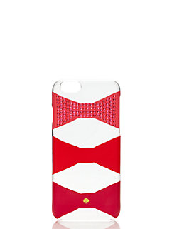 embellished bow tile resin iphone 6 by kate spade new york