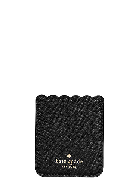 scallop sticker pocket by kate spade new york